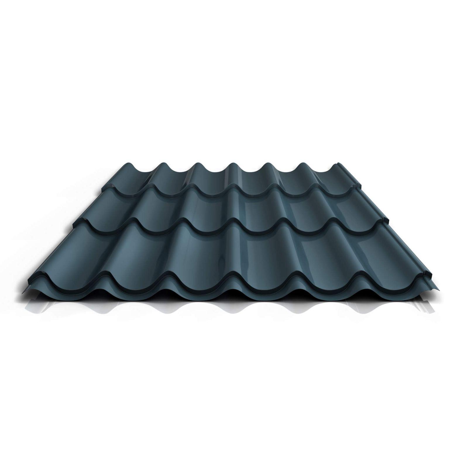 St/ärke 0,40 mm Beschichtung 25 /µm Trapezblech Profilblech Dachblech Profil PS45//1000TRA Material Stahl Farbe Anthrazitgrau