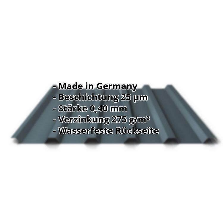 Gut gemocht Trapezblech PS35/1035TR | 2. Wahl Dach | Stahl 0,40 mm | 7016 YP77