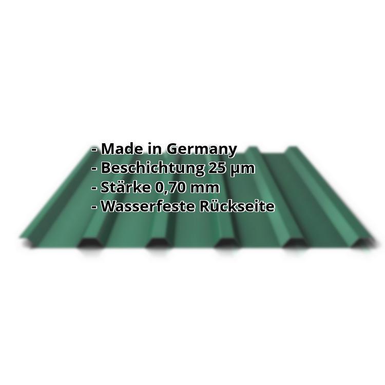 Hervorragend Trapezblech PA35/1035TR | 25 µm Polyester Dach | Aluminium 0,70 mm XY44
